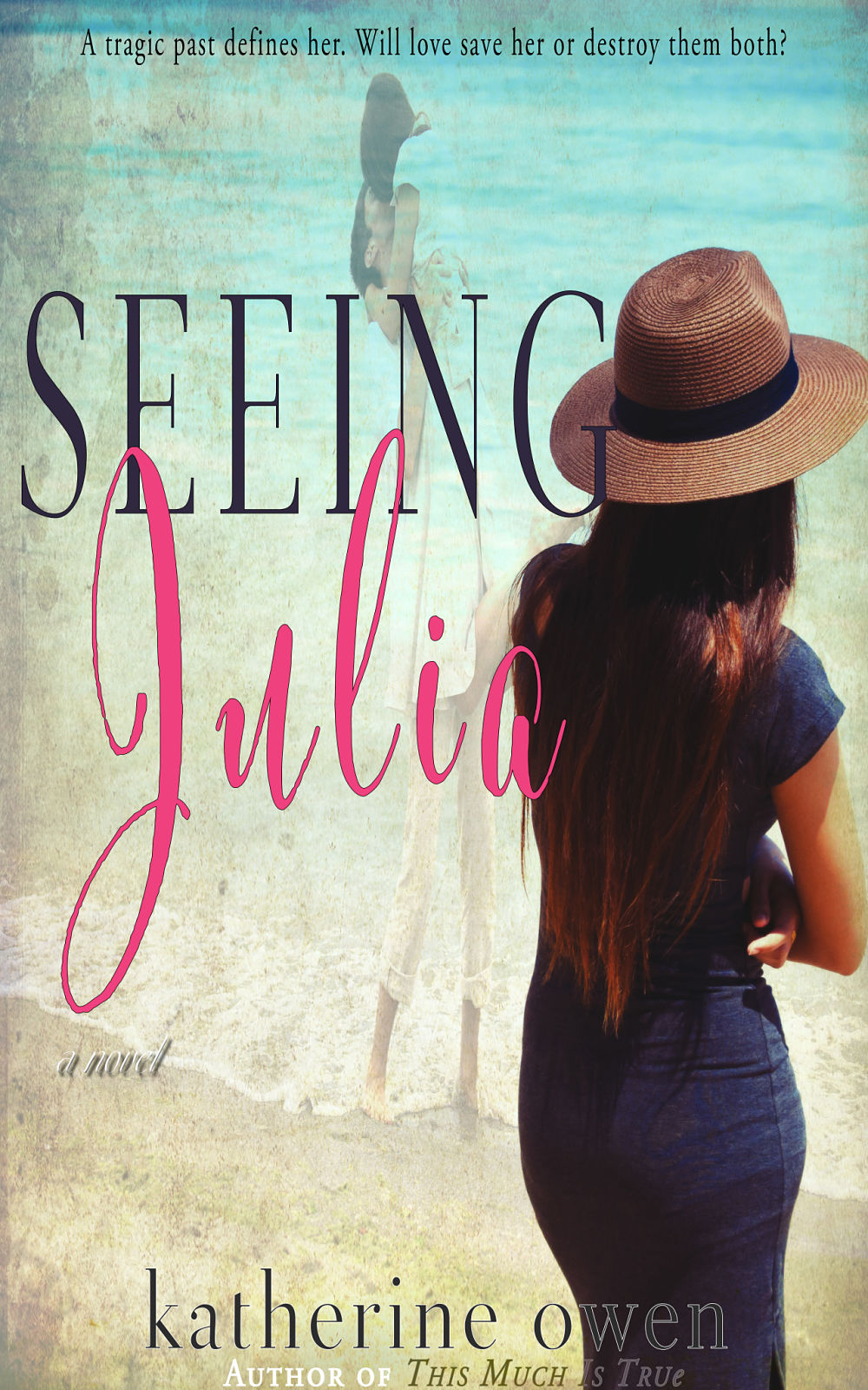 An updated ebook cover for the novel – Seeing Julia